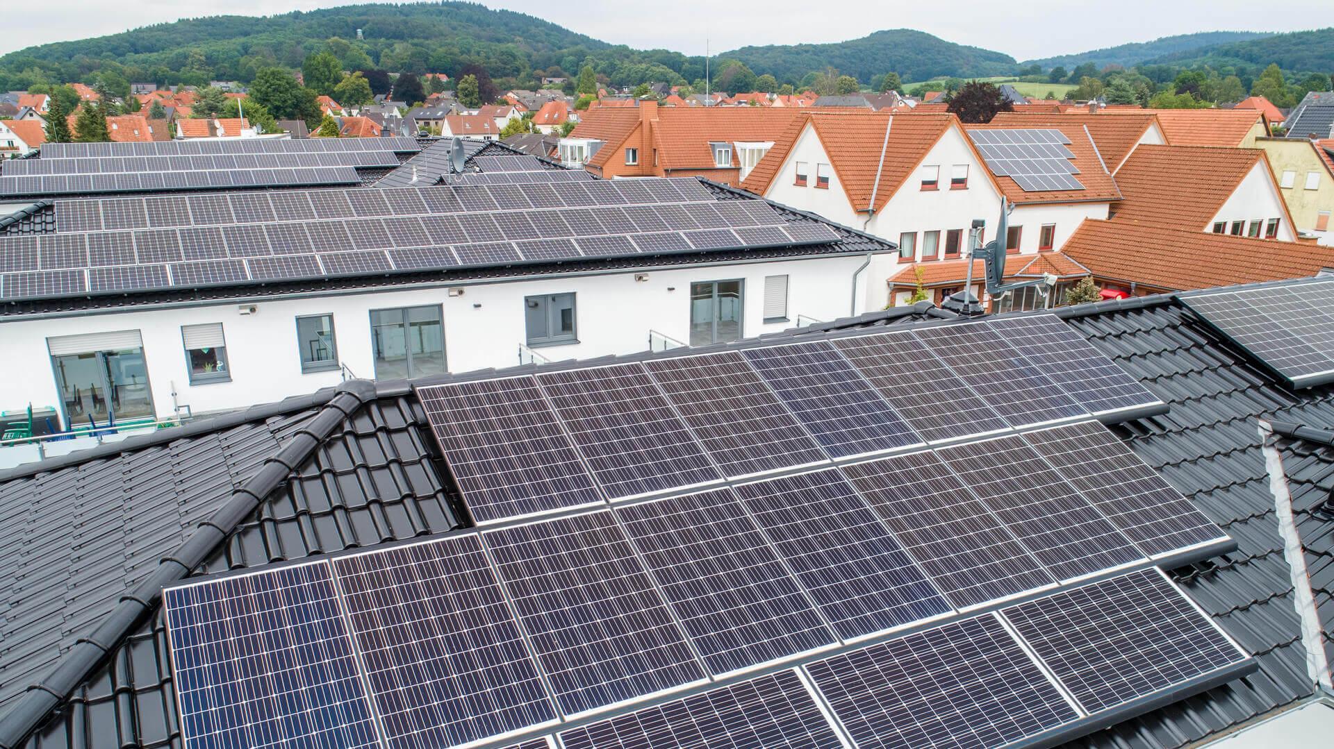 Photovoltaik--Förderung